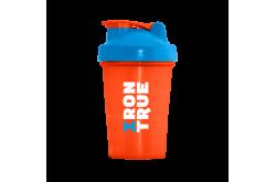 IRONTRUE Blue - Orange 400ml / Шейкер, Шейкеры - в интернет магазине спортивных товаров Tri-sport!