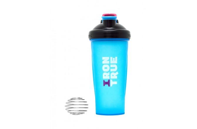 IRONTRUE Black - Blue 600ml / Шейкер, Шейкеры - в интернет магазине спортивных товаров Tri-sport!
