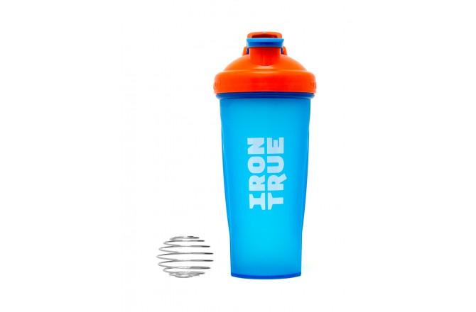 IRONTRUE Orange - Blue 600ml / Шейкер, Шейкеры - в интернет магазине спортивных товаров Tri-sport!