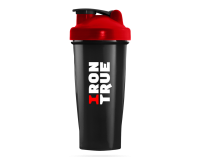 IRONTRUE Red - Black 600ml / Шейкер