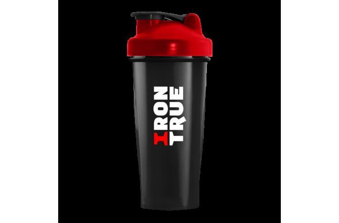 IRONTRUE Red - Black 600ml / Шейкер, Шейкеры - в интернет магазине спортивных товаров Tri-sport!
