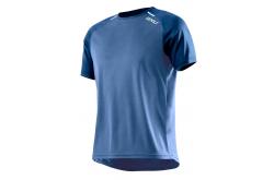 Мужская футболка для бега 2XU / Синий, Футболки, майки, топы - в интернет магазине спортивных товаров Tri-sport!