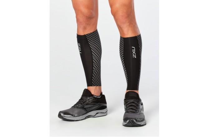 2XU Reflect Compression Calf Guards / Компрессионные гетры с светоотражателями, Гетры - в интернет магазине спортивных товаров Tri-sport!