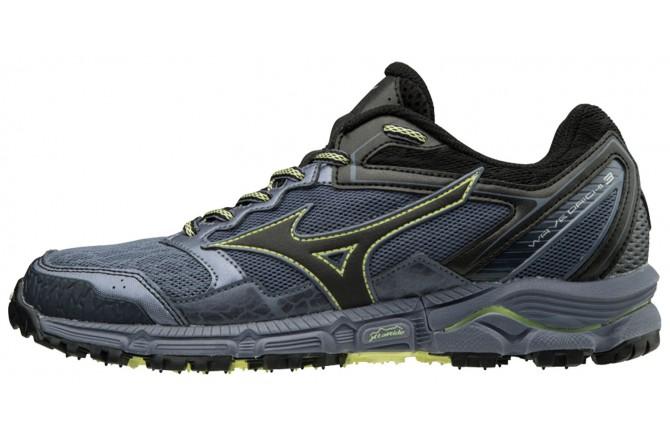 Mizuno Wave Daichi 3 W (UK) / Женские внедорожные кроссовки, По бездорожью - в интернет магазине спортивных товаров Tri-sport!