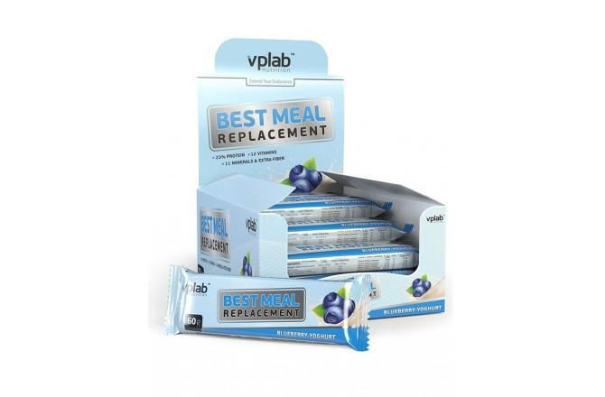 VPlab Protein bar  Best Meal вкус Черника / Протеиновый батончик, Батончики - в интернет магазине спортивных товаров Tri-sport!