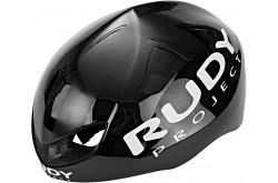 Rudy Project Boost Pro Black Shiny - White Matt L / Шлем, Шлемы шоссейные - в интернет магазине спортивных товаров Tri-sport!