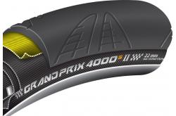 """Трубка Continental Grand Prix 4000 Tubular, 28""""x22мм, цв. black-black, 270гр., Покрышки и камеры - в интернет магазине спортивных товаров Tri-sport!"""