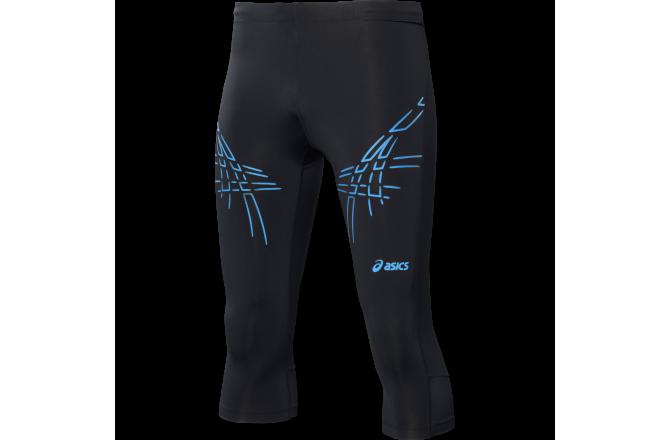 Asics ASICS Stripe Knee Tight \ Тайтсы до колена для бега мужск., Тайтсы и штаны - в интернет магазине спортивных товаров Tri-sport!