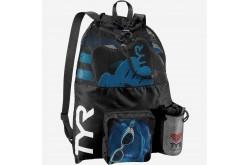 TYR Big Mesh Mummy Bag Черный / Рюкзак для аксессуаров, Аксессуары для плавания - в интернет магазине спортивных товаров Tri-sport!