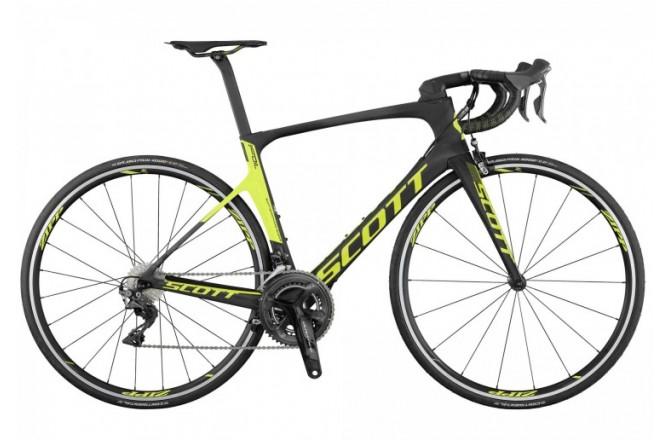 Велосипед Foil RC black/yellow Scott 2017, Шоссейные - в интернет магазине спортивных товаров Tri-sport!