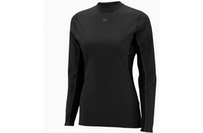 Mizuno Women's Mid Weight Crew / Термобелье рубашка женская, Термобелье - в интернет магазине спортивных товаров Tri-sport!