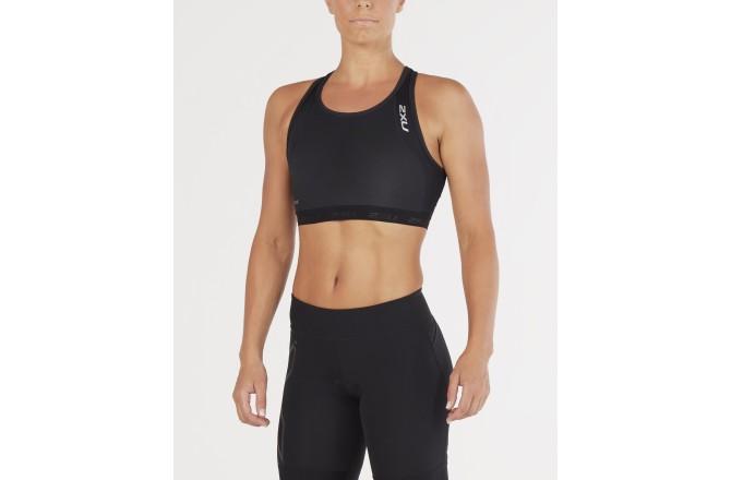 2XU PerformTriathlon Crop / Женский компрессионный стартовый топ (бра) для триатлона, Стартовые костюмы - в интернет магазине спортивных товаров Tri-sport!