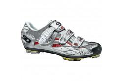SIDI MTB SPIDER SRS Carbon / Велотуфли стальной серебристый лакиров, Велообувь МТВ - в интернет магазине спортивных товаров Tri-sport!