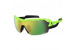 Scott Spur neon green matt/black green chrome amplifier + линза clear / Очки, Очки - в интернет магазине спортивных товаров Tri-sport!