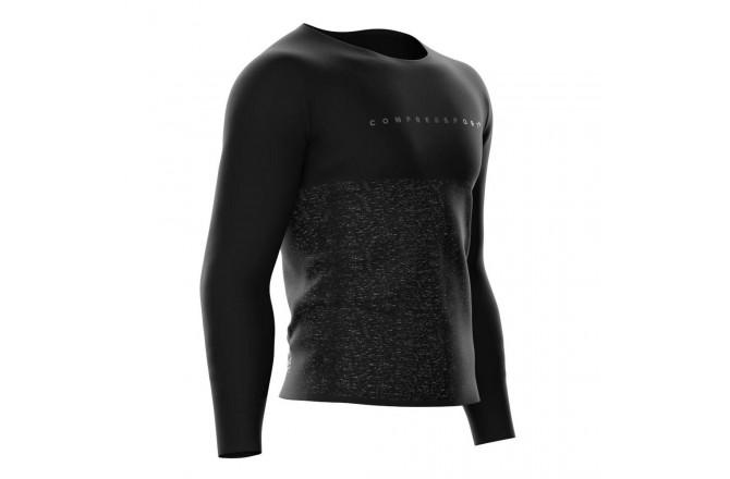 COMPRESSPORT TRAINING TSHIRT W - BLACK EDITION / Тренировочная футболка мужская, Футболки, майки, топы - в интернет магазине спортивных товаров Tri-sport!