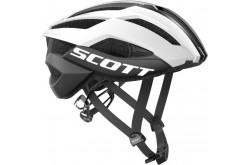 Scott Arx Plus white/black / Шлем велосипедный