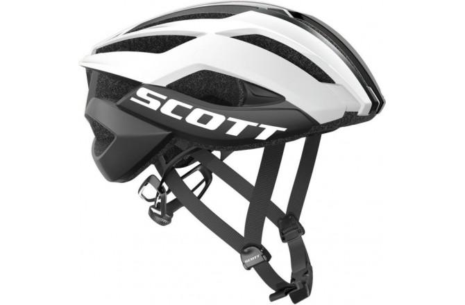 Scott Arx Plus white/black / Шлем велосипедный, Шлемы шоссейные - в интернет магазине спортивных товаров Tri-sport!