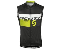 Жилет Scott RC Pro б/рук black/sulphur yellow