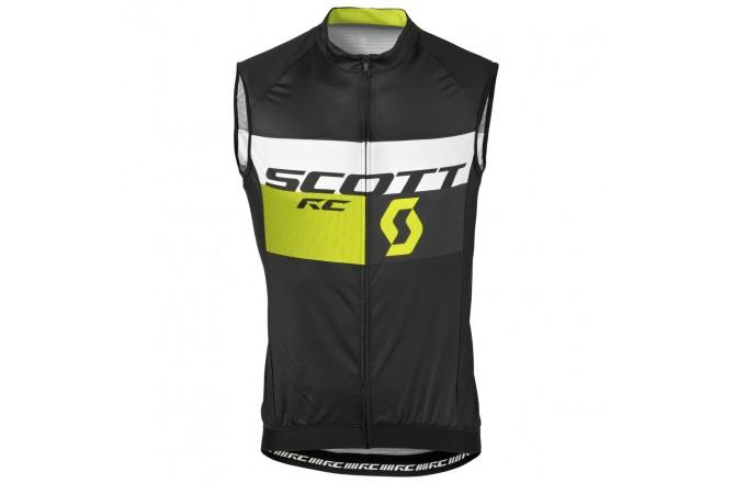 Жилет Scott RC Pro б/рук black/sulphur yellow, Жилеты - в интернет магазине спортивных товаров Tri-sport!