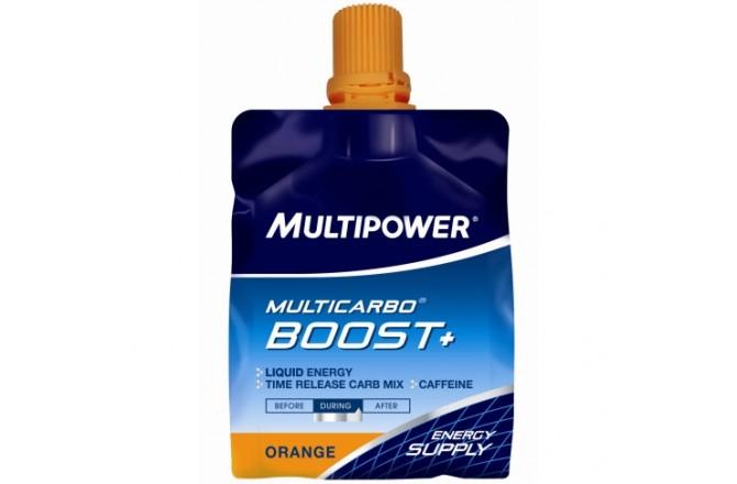 MULTIPOWER MULTICARBO BOOST+ / Гель энергетический с кофеином и BCAA, Гели - в интернет магазине спортивных товаров Tri-sport!