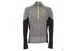 Mizuno Alpha LS HZ / Рубашка мужская беговая на молнии, Утепленные футболки - в интернет магазине спортивных товаров Tri-sport!