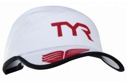 Running cap TYR / Беговая кепка белая, Одежда для бега - в интернет магазине спортивных товаров Tri-sport!