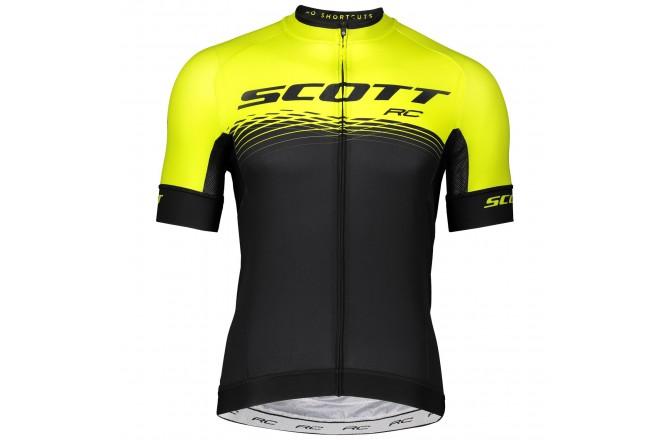 Scott RC Pro sulphur yellow/black / Веломайка короткий рукав, Джерси - в интернет магазине спортивных товаров Tri-sport!