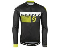 Майка Scott RC Pro д/рук black/sulphur yellow