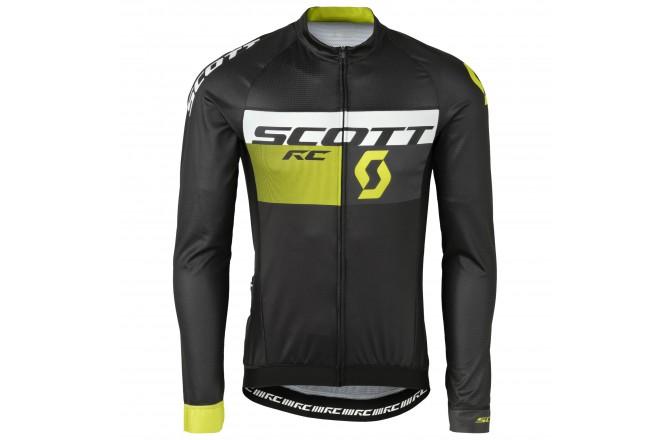 Майка Scott RC Pro д/рук black/sulphur yellow, Джерси - в интернет магазине спортивных товаров Tri-sport!