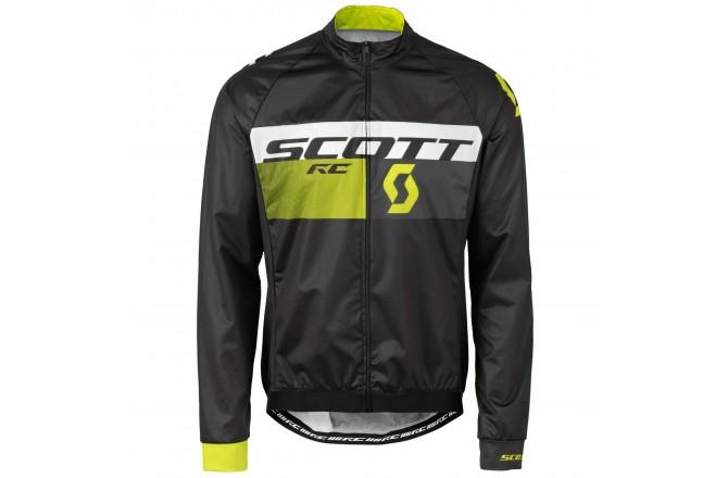 Куртка Scott RC Pro WB black/sulphur yellow, Куртки и дождевики - в интернет магазине спортивных товаров Tri-sport!