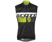 Жилет ветрозащитный Scott RC Pro WB black/sulphur yellow