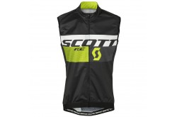 Жилет Scott RC Pro WB black/sulphur yellow, Жилеты - в интернет магазине спортивных товаров Tri-sport!