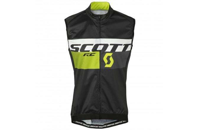 Жилет ветрозащитный Scott RC Pro WB black/sulphur yellow, Жилеты - в интернет магазине спортивных товаров Tri-sport!