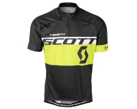Майка Scott RC Team к/рук black/sulphur yellow