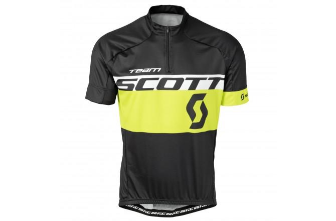 Майка Scott RC Team к/рук black/sulphur yellow, Джерси - в интернет магазине спортивных товаров Tri-sport!