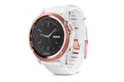 Garmin FENIX® 3 Sapphire / Часы золотые c белым ремешком, Гаджеты - в интернет магазине спортивных товаров Tri-sport!