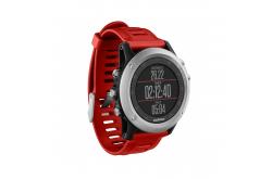 Garmin FENIX® 3 / Часы с серебряный с красным ремешком, Гаджеты - в интернет магазине спортивных товаров Tri-sport!