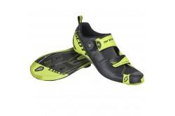 Scott Tri Carbon black/neon yellow / Велотуфли для триатлона, Велотуфли для триатлона - в интернет магазине спортивных товаров Tri-sport!
