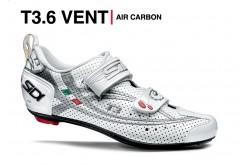 SIDI T-3 AIR CARBON COMP / Велотуфли для триатлона белый серебристый, Для триатлона - в интернет магазине спортивных товаров Tri-sport!