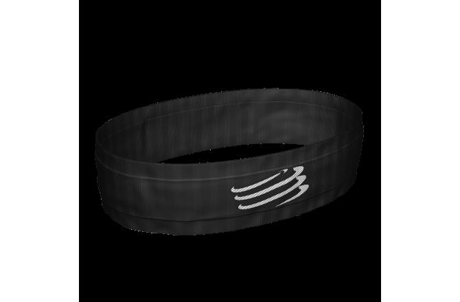 Compressport Free Belt Black  / Эластичный пояс для питания, Сумки и ремешки на пояс - в интернет магазине спортивных товаров Tri-sport!