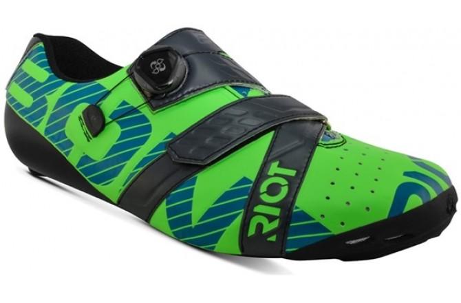 Bont Riot Road+ (Lime/Charcoal) / Велотуфли, Велообувь шоссе - в интернет магазине спортивных товаров Tri-sport!