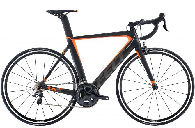 FELT AR3 Matte Black (Charcoal, Flouro Orange) / Велосипед, Шоссейные - в интернет магазине спортивных товаров Tri-sport!