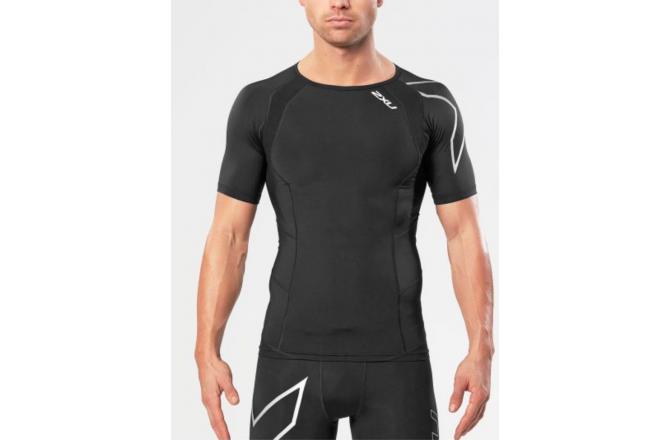 2XU Compression Short Sleeve Top Universal / Мужская компрессионная футболка с коротким рукавом, Футболки и кофты - в интернет магазине спортивных товаров Tri-sport!