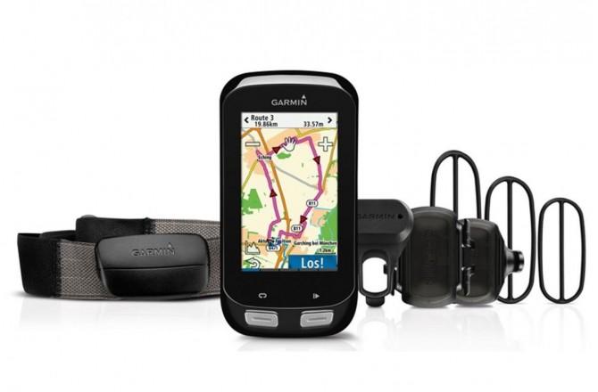 Велокомпьютер Garmin EDGE 1000  HRM-3+CAD, Велокомпьютеры с GPS - в интернет магазине спортивных товаров Tri-sport!
