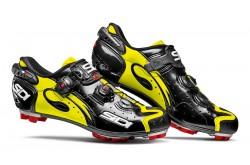 SIDI MTB DRAKO Carbon SRS / Велотуфли черный/желтый флюоресц лакированный, Для МТБ - в интернет магазине спортивных товаров Tri-sport!
