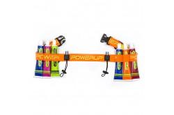 Powerup Belt / Пояс для номера оранжевый, Сумки и ремешки на пояс - в интернет магазине спортивных товаров Tri-sport!