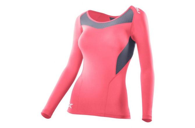 2XU Women's Base Compression L/S Top / Женская Компрессионная футболка с длинными рукавами, Компрессионные футболки - в интернет магазине спортивных товаров Tri-sport!