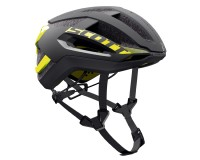 Scott Centric PLUS black/yellow RC / Шлем SCT17