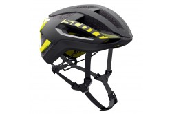 Scott Centric PLUS black/yellow RC / Шлем SCT17, Шлемы - в интернет магазине спортивных товаров Tri-sport!