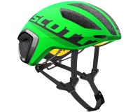 Scott Cadence PLUS green flash/black / Шлем SCT17